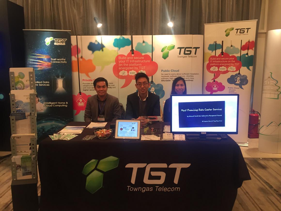 2015 Cloud Asia Forum | TGT Towngas Telecom
