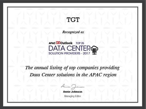 Top 25 Data Centre Solutions Providers 2017